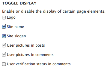 Drupal 7 theme settings